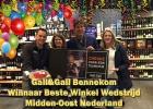 Gall&Gall Bennekom winnaar in BesteWinkelWedstrijd