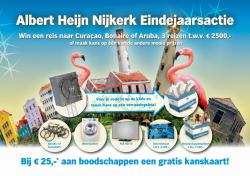 Eindejaarsactie AH Nijkerk met mooie prijzen