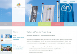 Nieuwe website Van den Tweel Groep
