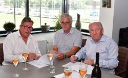 AH Van den Tweel hoofdsponsor Veensche Boys